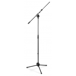 VONYX MS20 Microphone Stand + Boom HQ Black