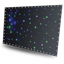 BeamZ SPW96 SparkleWall LED96 RGBW 3x 2m with controller