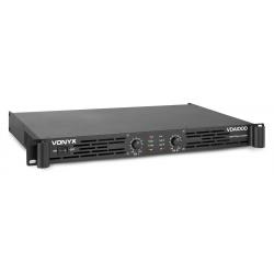 Vonyx VDA1000 garso stiprintuvas 1U 2x 500W