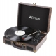 Fenton RP115B Record Player with BT Brown Wood