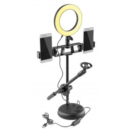 VONYX RL20 Ring Light + Table Stand