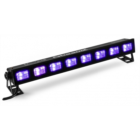 BeamZ BUV93 Bar 8x3W UV LEDs