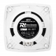 "MS70 Marine Speaker Set 2-Way Square 5.25"" 100W (2vnt)"