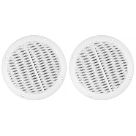 """MS65 Waterproof Marine Speaker Set 6.5"""" 100W (2vnt)"""