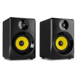"VONYX SMN40B Active Studio Monitor 4"" Pair"