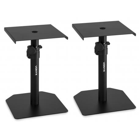 VONYX SMS10 Studio Monitor Table Stand Set