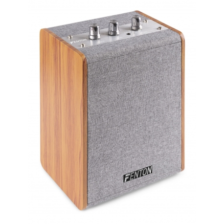 "Fenton VBS40 Vintage Wooden Speaker 4"""