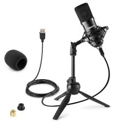 Vonyx CM300B Studio Microphone USB Black