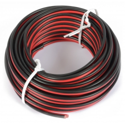 RX30 Universal Cable Red & Black 10m 2x 0.75mm