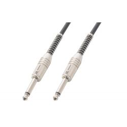 Guitar Cable 6.3 Mono - 6.3 Mono 1.5m Black