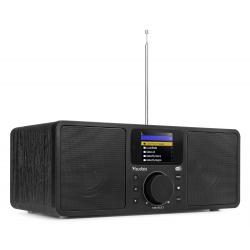 Audizio Rome WIFI Internetinis radijo imtuvas juodas