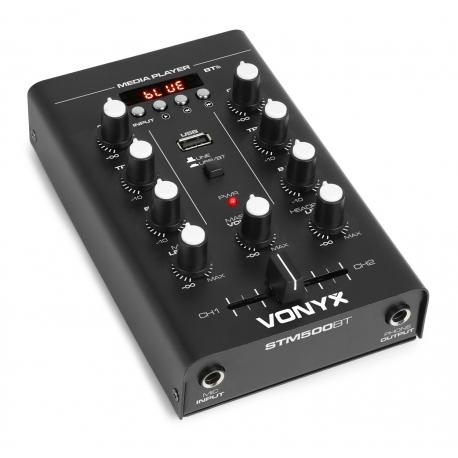 Vonyx STM500BT 2-kanalų mikšeris USB/MP3/BT